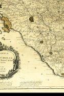 Mappa geografica dello stato della Chiesa