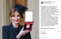 JK Rowling décorée à Buckingham Palace