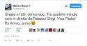 Renzi tweet