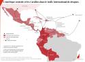 l'Amérique centrale et les Caraïbes dans le trafic international de drogues