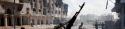 la guerre civile en Libye dans une ville