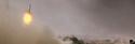 Un missile dans le désert en Libye