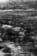 Tableau Gerhard Richter – Enterrement noir blanc Shoah in B&W