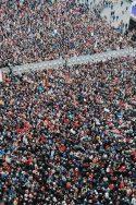 Sardines 6000 Bologna Elections Emilie Romagne