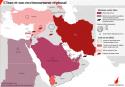 Menaces contre l'Iran dans la région L'iran et ses alliés