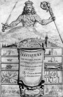 Frontispice du Léviathan de Thomas Hobbes, 1651 Brexit UE Hobbes État politique européenne populisme