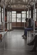 coronavirus transports tramway presque vide