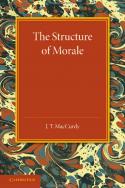 couverture livre Cambridge The Structure of Morale confinement coronavirus
