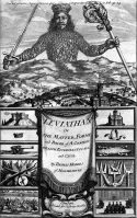 Frontispice du Léviathan de Thomas Hobbes, 1651