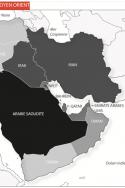 Barils par jour produit par les pays du Moyen Orient