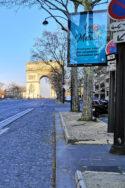 Image rues désertes Dix points levée confinement UE monde stratégies possibles gestion de crise sanitaire covid-19 pandémie santé publique OMS coronavirus Champs-Élysées France