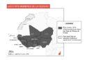 Carte États membres de la CEDEAO Afrique occidentale covid-19 crise des migrants Mali Nigeria crise pandémie UA