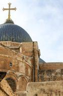 religion Jérusalem Saint-sépulcre lieux saints église Terre Sainte Israël pandémie