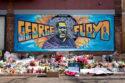 Image mémorial George Floyd Minneapolis mouvement Black Lives Matter BLM Ce que l'Amérique noire signifie pour l'Europe suprémacistes racisme USA Trump postcolonialsme colonialisme populisme colonial justice droit de l'homme égalité police