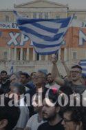 Tsipras Grèce militants acclament soutien
