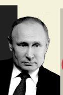 Photo N&B Poutine portrait art contemporain Vladimir Poutine : vérités et mensonges Galia Ackermann propagande russe élections Russie opposition story-telling hyperleader histoire géopolitique héritage soviétique historiographie pays baltes URSS Gorbatchev empire russe politique mémorielle Juifs Seconde Guerre mondiale
