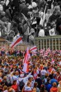 Photo manifestants Biélorussie : où en est-on ? Le bilan en 10 points Loukachenko Poutine Russie émeutes populaires société URSS Europe bloc de l'Est