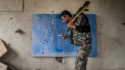 Graffiti street art Nagorno-Karabakh : la guerre des récits Arménie Azerbaïdjan conflit frontalier