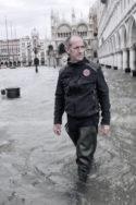 Italie, Venise : Urgence déclarée en raison des marées hautes historiques qui frappent la ville. Luca Zaia Président de l'Italie du Nord, région de Vénétie