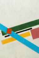 RED Coslin Entreprises et droits de l'Homme Europe Malevich abstrait rectangles couleurs bleu jaune vert rouge