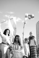 Portrait photo N&B « Le socialisme a disparu, mais nous sommes toujours là », conversation avec Svetlana Alexievitch histoire URSS doctrines Russie utopie socialiste communiste littérature livres culture luttes misère Biélorussie Minsk Soljenitsyne