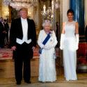 Photo portrait Melania Donald Trump Reine Élizabeth II La doctrine Trump trumpisme politique étrangère style populiste populisme États-Unis ère Trump élections américaines Président Biden QAnon
