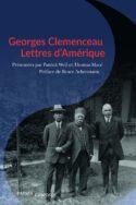 Couverture livre CR histoire Georges Clemenceau Lettres d'Amérique P. Weil Amérique outre-Atlantique peuples doctrines