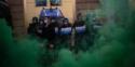 Photo Manifestation et police anti-émeutes sur la Piazza Castello à Turin Gilets Covid : Comprendre les révoltes contre le confinement en Italie
