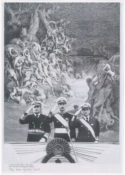 Peinture art contemporain Ferrari Nunca Más Le retour de la tentation militaire en Amérique latine Bolivie Evo Morales Chili Équateur Vénézuéla Honduras