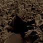 Photo N&B président Alfonsin Le jour où l'Argentine a changé discours de campagne d'Alfonsin politique électorale Amérique latine élections