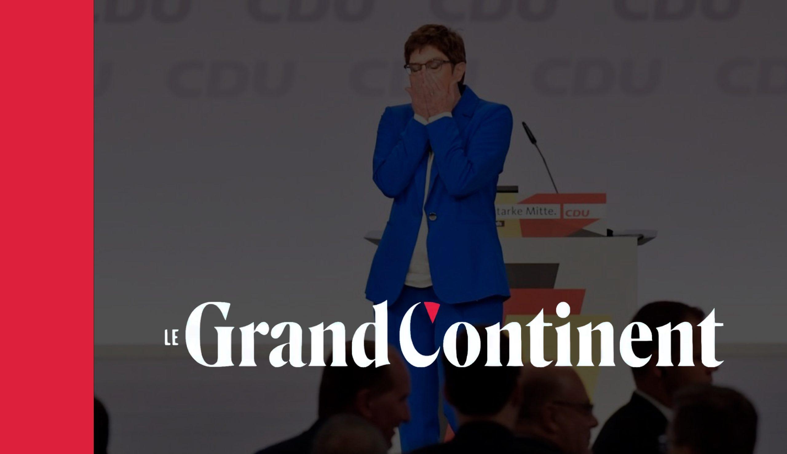 Sur quoi porte notre dispute ? L'Allemagne, la France et le spectre de l'autonomie européenne - Le Grand Continent