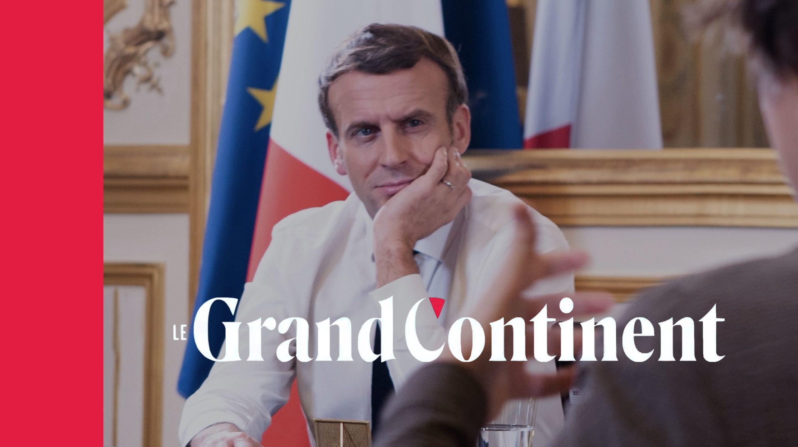 La doctrine Macron : une conversation avec le Président français