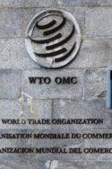 Photo logo direction OMC Pourquoi l'OMC n'a-t-elle toujours pas de tête ? géopolitique mondiale ONU multilatéralisme commerce mondial économie