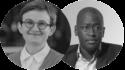 Photo portrait Daniela Gabor Ndongo Samba Sylla bilan économique de la pandémie de crise du Covid-19 coronavirus et économie Consensus de Wall Street développement international durable Afrique obligations africaines