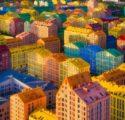 Maisons colorées Kiev Le nouveau protectionnisme économie américaine Trump politique commerciale préférence européenne États-Unis Chine élections américaines Joe Biden Made in America UE taxes Union européenne commerce mondial