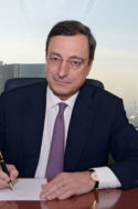 Draghi signant